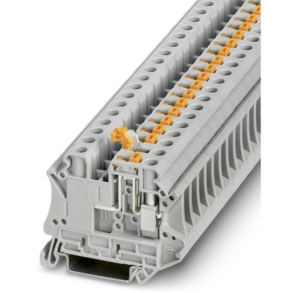 Ark / modulære afbryde terminal UT 6-MT Phoenix Contact UT 6-MT Grå 50 stk