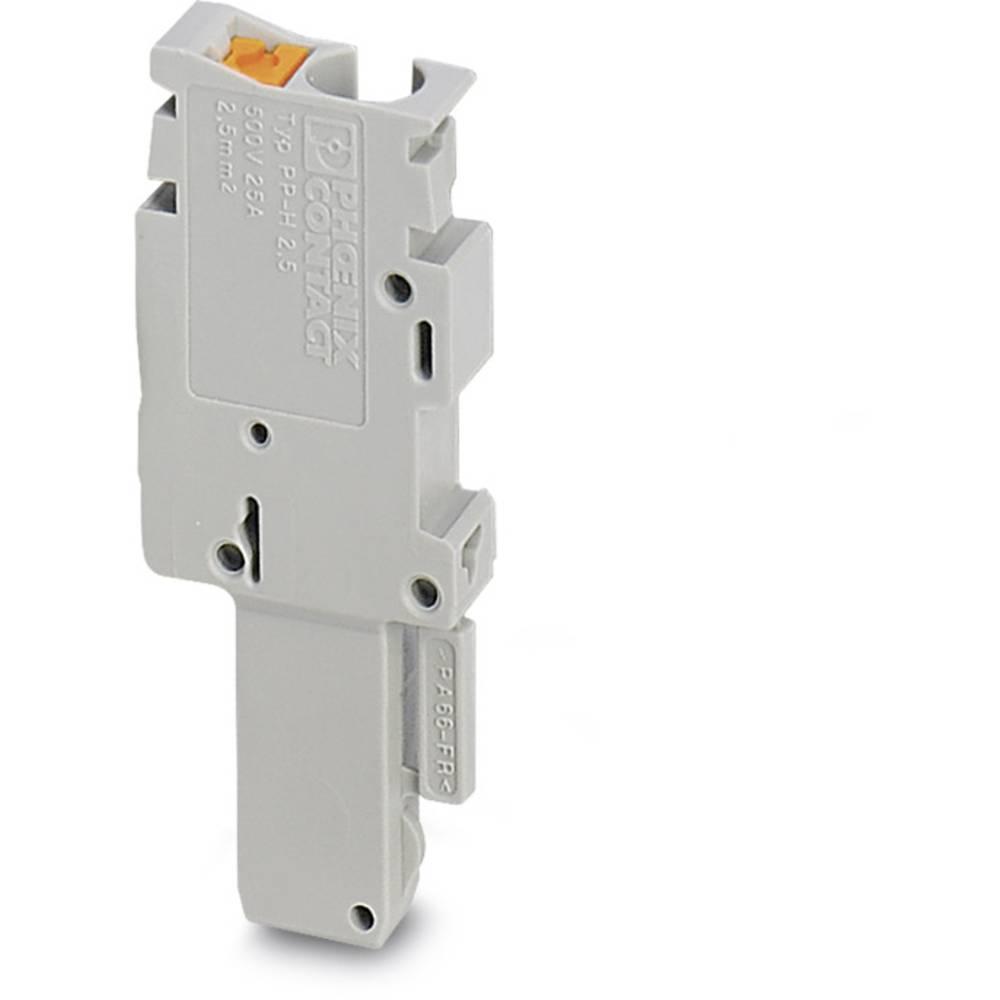 Plug PP-H 2,5 / 1-M Phoenix Contact PP-H 2,5/1-M Grå 50 stk