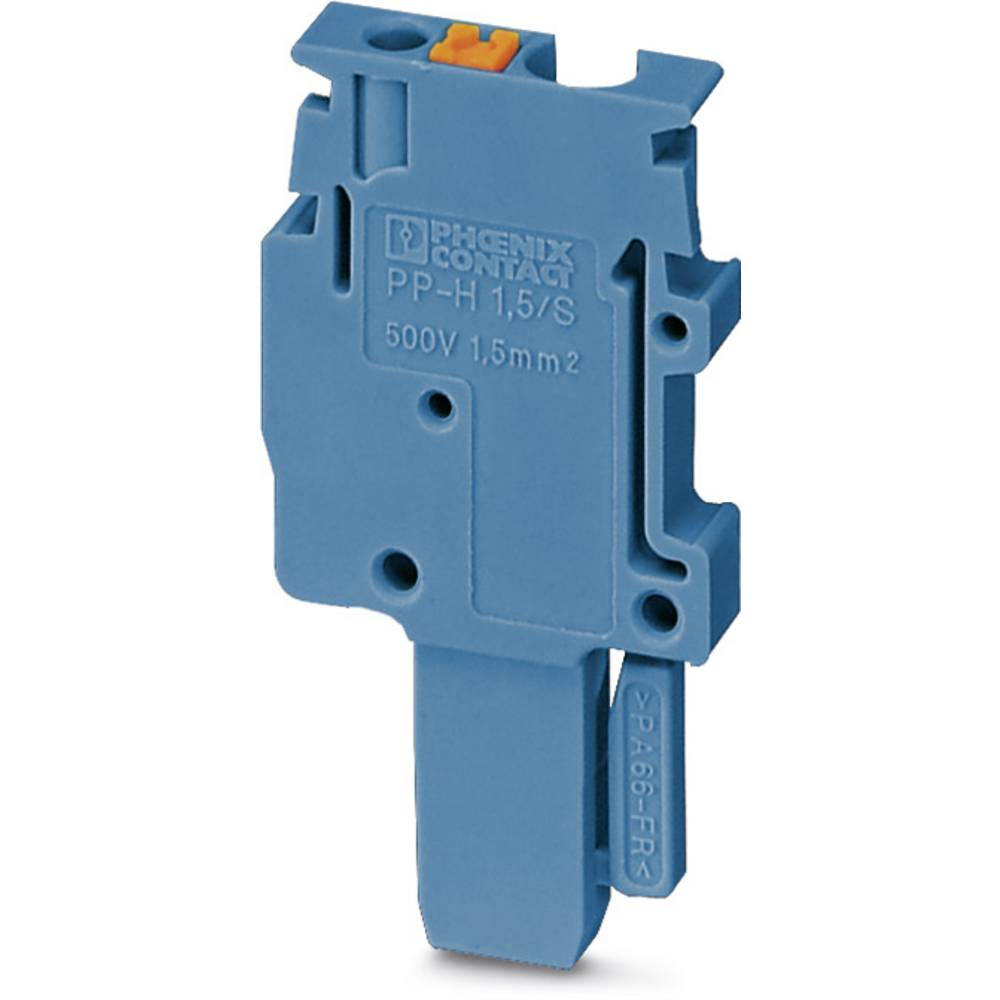 Plug PP-H 2,5 / 1-M BU Phoenix Contact PP-H 2,5/1-M BU Blå 50 stk