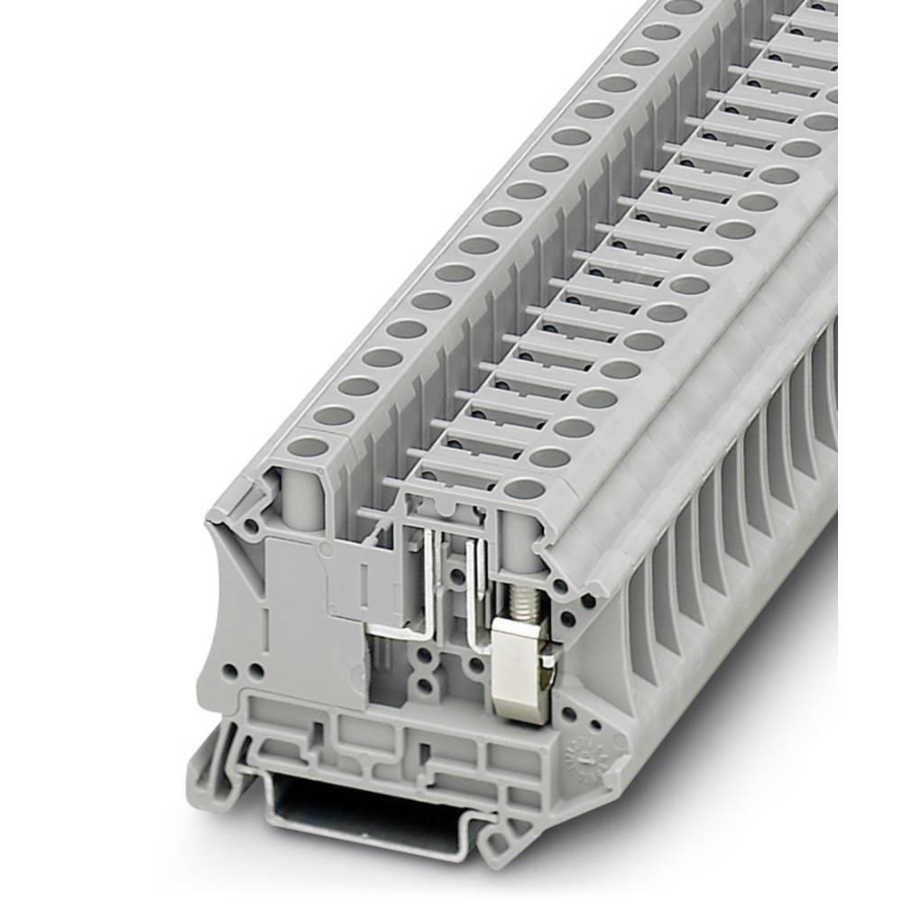 Ark / modulære afbryde terminal UT 6-TG P / P Phoenix Contact UT 6-TG P/P Grå 50 stk