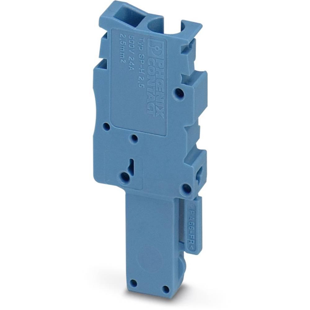Plug SP-H 2,5 / 1-L BU Phoenix Contact SP-H 2,5/ 1-L BU Blå 50 stk