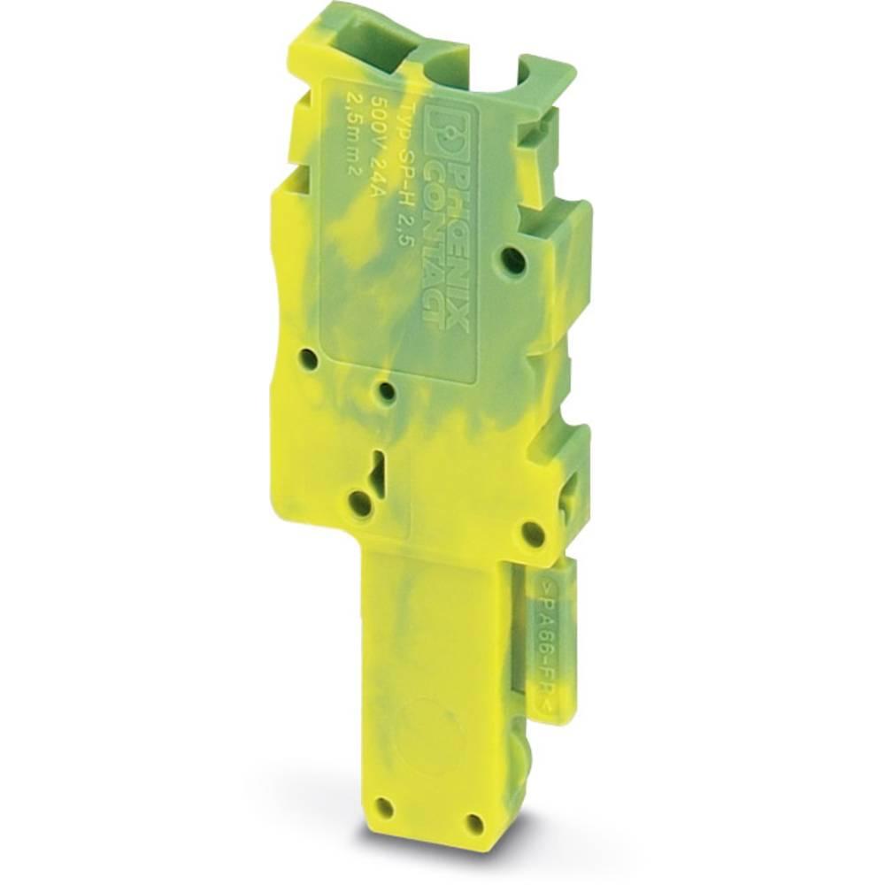 Plug SP-H 2,5 / 1-L GNYE Phoenix Contact SP-H 2,5/ 1-L GNYE Grøn-gul 50 stk