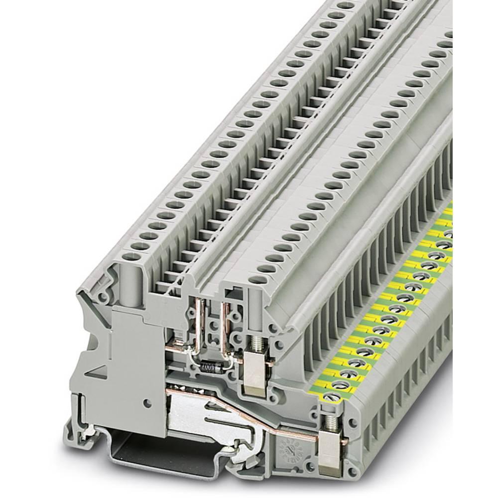 Komponentterminalen UT 4-PE / L-DIO / LR P / P Phoenix Contact UT 4-PE/L-DIO/L-R P/P Grå 50 stk