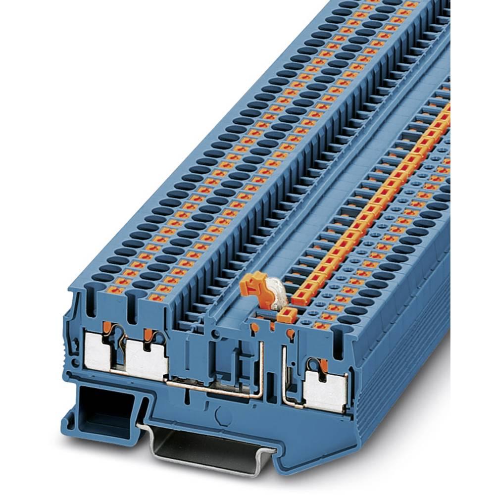 Ark / modulopbyggede afbryde terminal PT 2.5-TWIN-MT BU Phoenix Contact PT 2,5-TWIN-MT BU Blå 50 stk