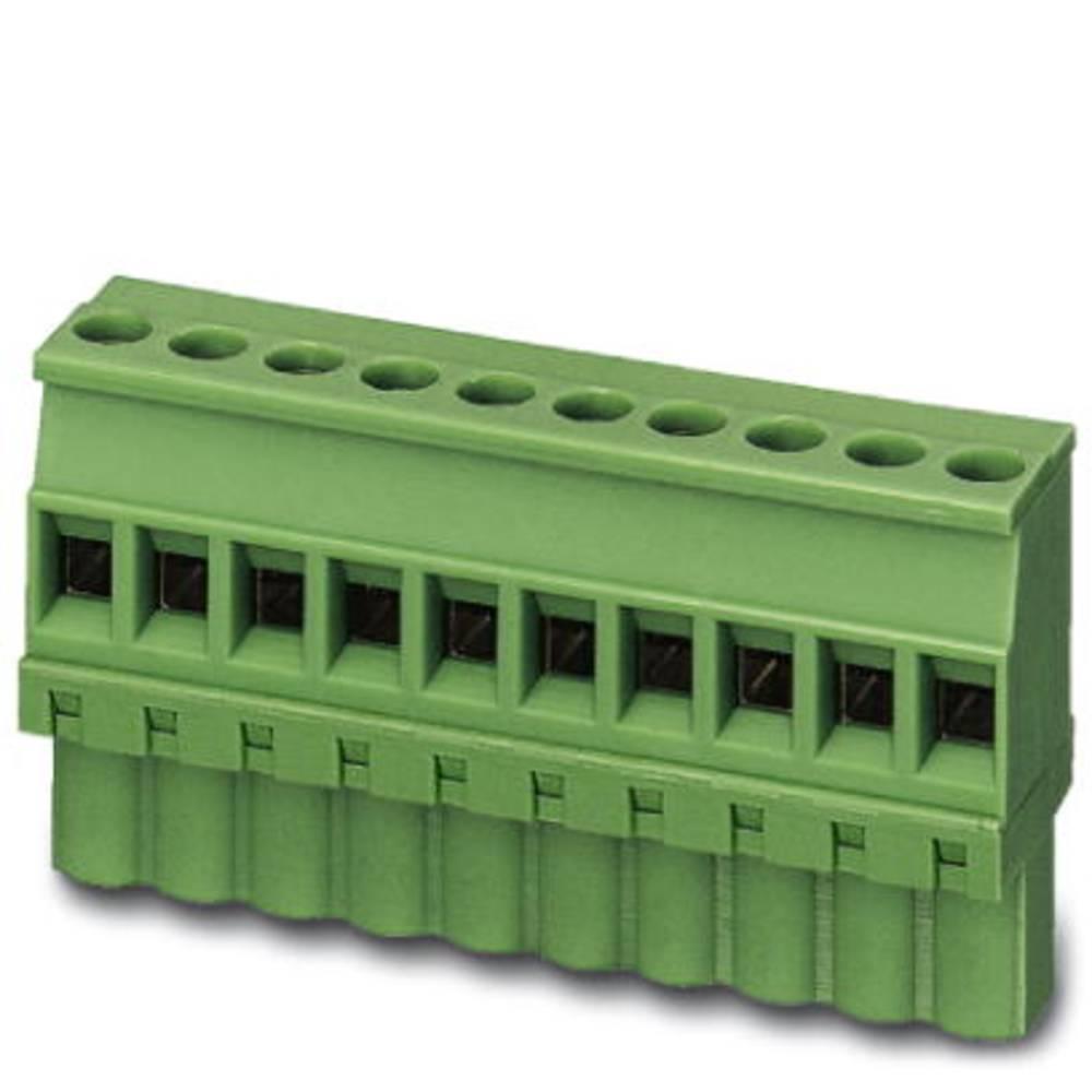 Tilslutningskabinet-kabel MC (value.1360607) Samlet antal poler 3 Phoenix Contact 1839610 Rastermål: 3.81 mm 50 stk