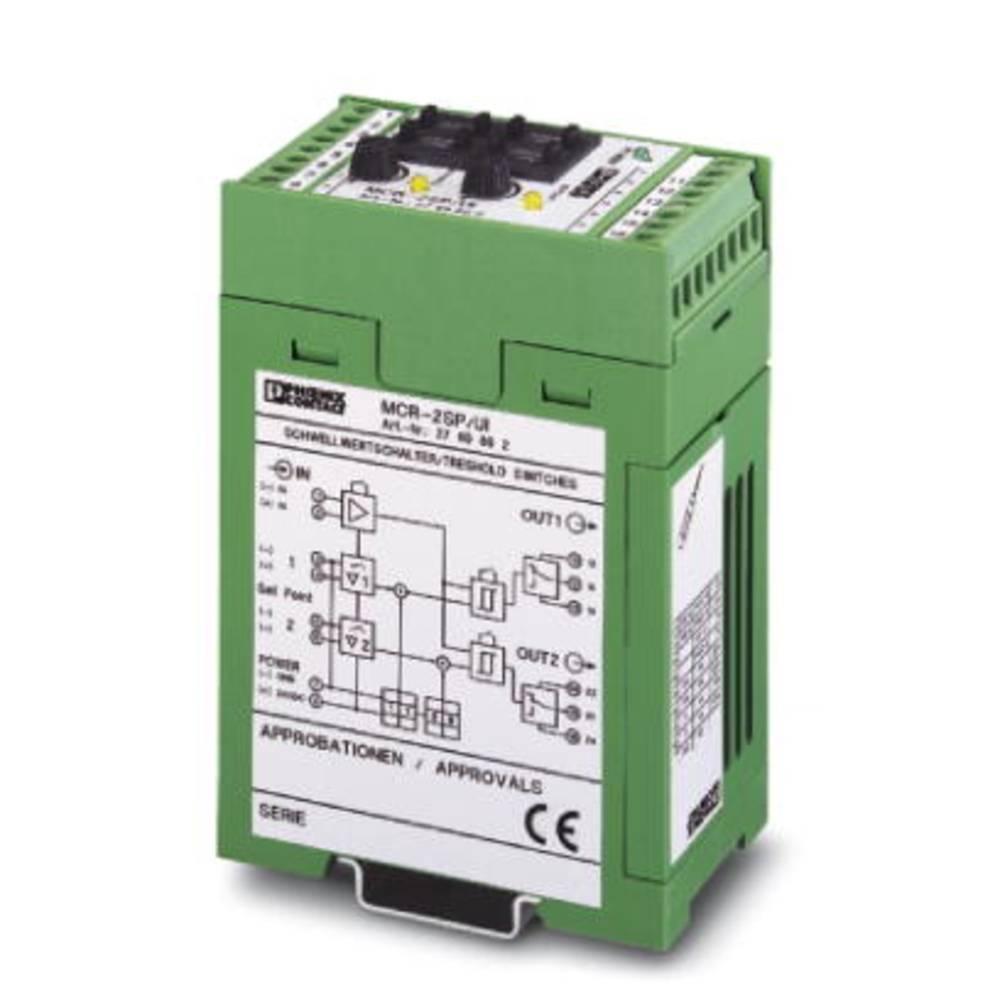 MCR-2SP-UI-DC - stikalo za mejne vrednosti Phoenix Contact MCR-2SP-UI-DC kataloška številka 2769873 1 kos