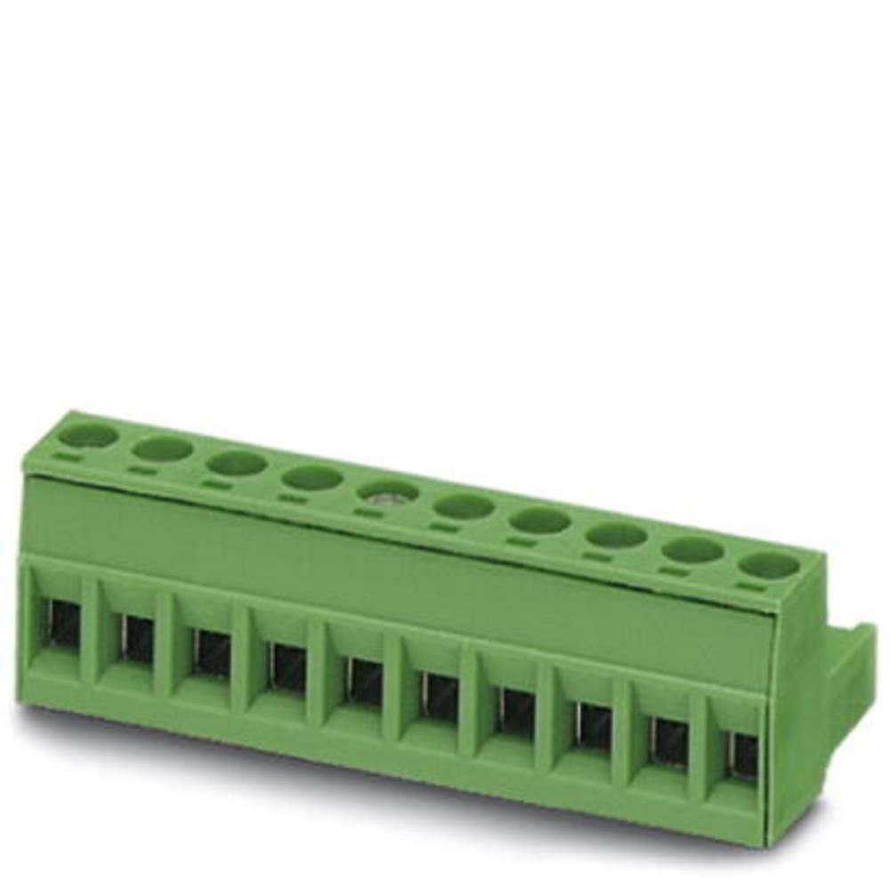 Tilslutningskabinet-kabel MSTB (value.1360781) Samlet antal poler 18 Phoenix Contact 1754766 Rastermål: 5 mm 50 stk