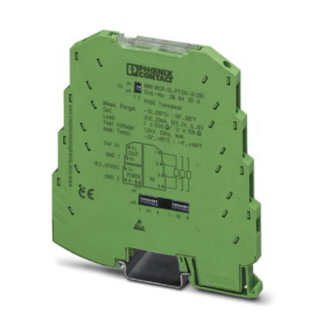 MINI MCR-SL-PT100-UI-200-SP-NC - temperaturni pretvornik Phoenix Contact MINI MCR-SL-PT100-UI-200-SP-NC kataloška številka 28642