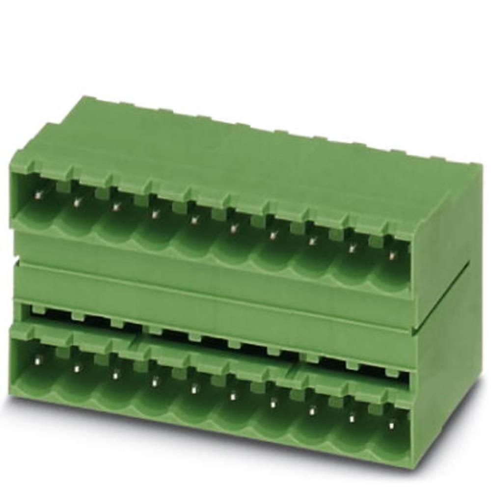Pinsko ohišje za tiskano vezje MSTB Phoenix Contact 1759460 raster: 5.08 mm 50 kosov