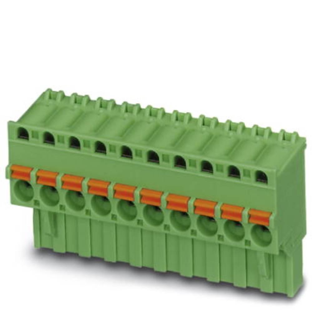Tilslutningskabinet-kabel FKCVR (value.1361099) Samlet antal poler 3 Phoenix Contact 1909728 Rastermål: 5 mm 100 stk