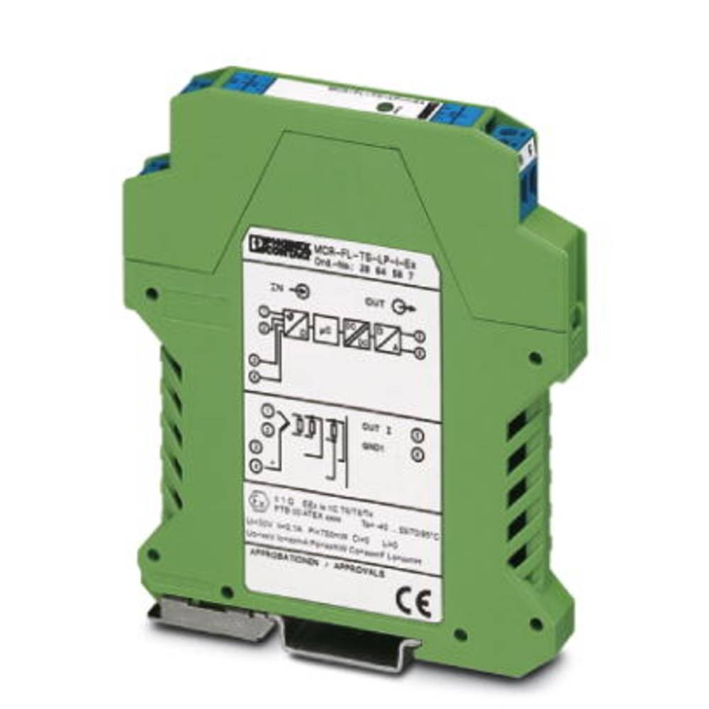 MCR-FL-TS-LP-I-EX - temperaturni pretvornik Phoenix Contact MCR-FL-TS-LP-I-EX kataloška številka 2864587 1 kos