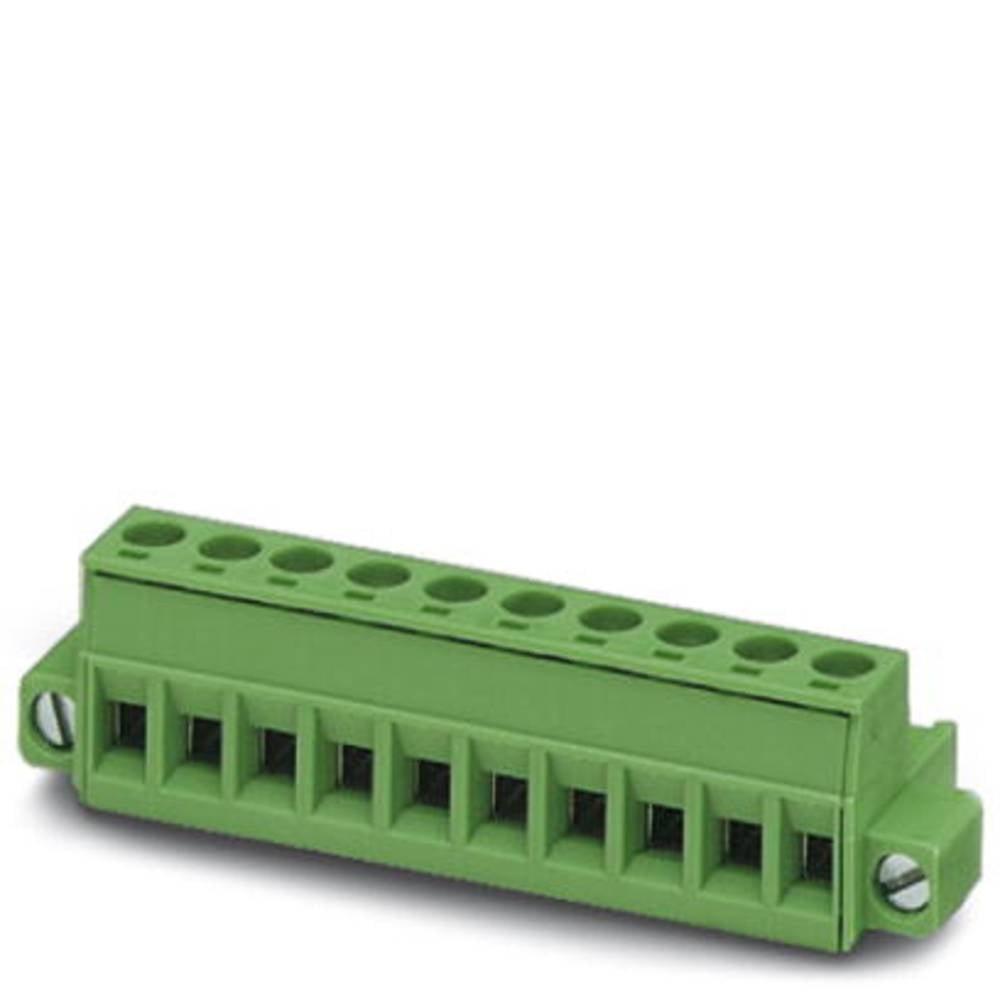 Tilslutningskabinet-kabel MSTB (value.1360781) Samlet antal poler 3 Phoenix Contact 1777992 Rastermål: 5.08 mm 100 stk