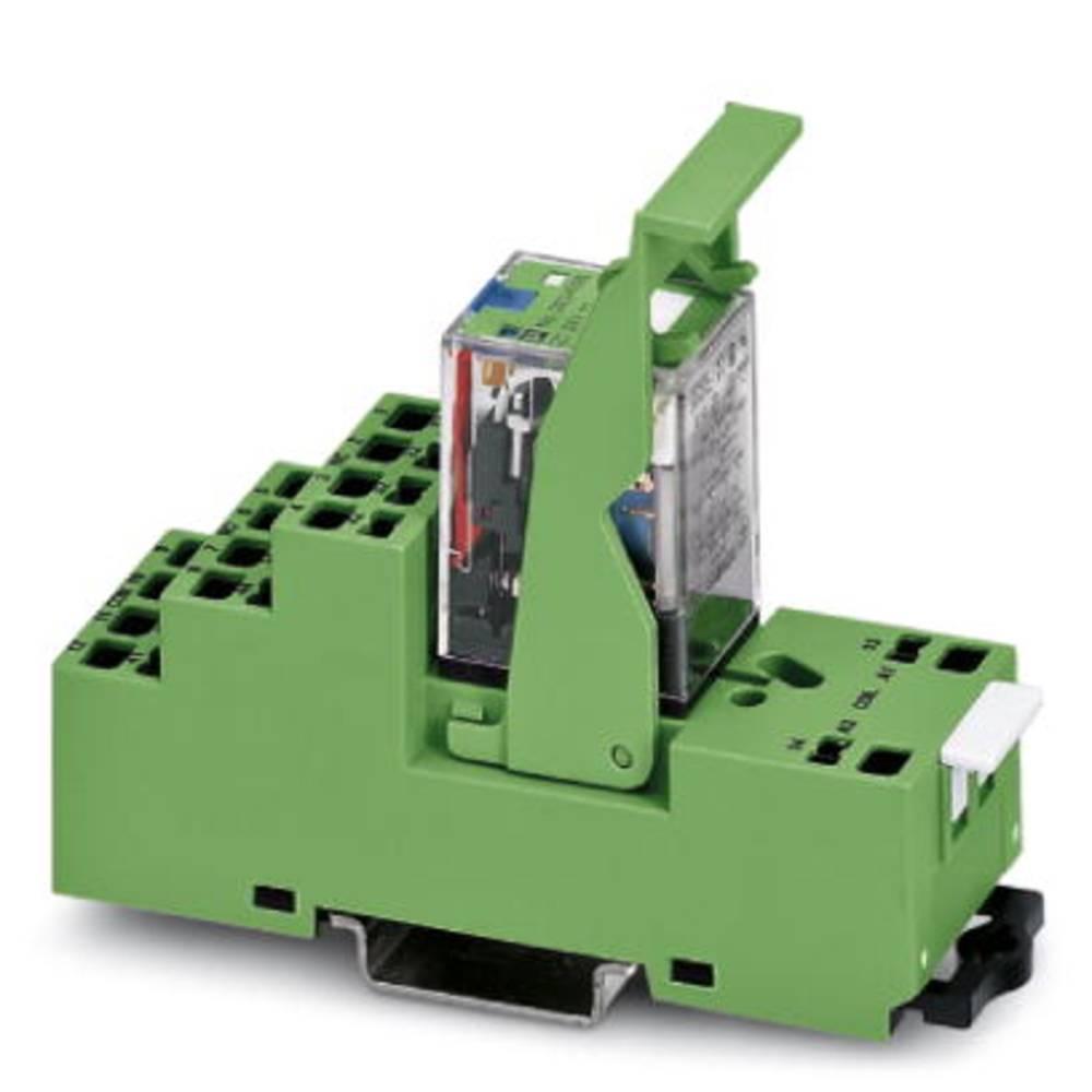 Relejski modul 5 kosov Phoenix Contact PR2-RSP3-LDP-24DC/2X21 nazivna napetost 24 V/DC preklopni tok (maks.): 10 A 2 izmenjevaln