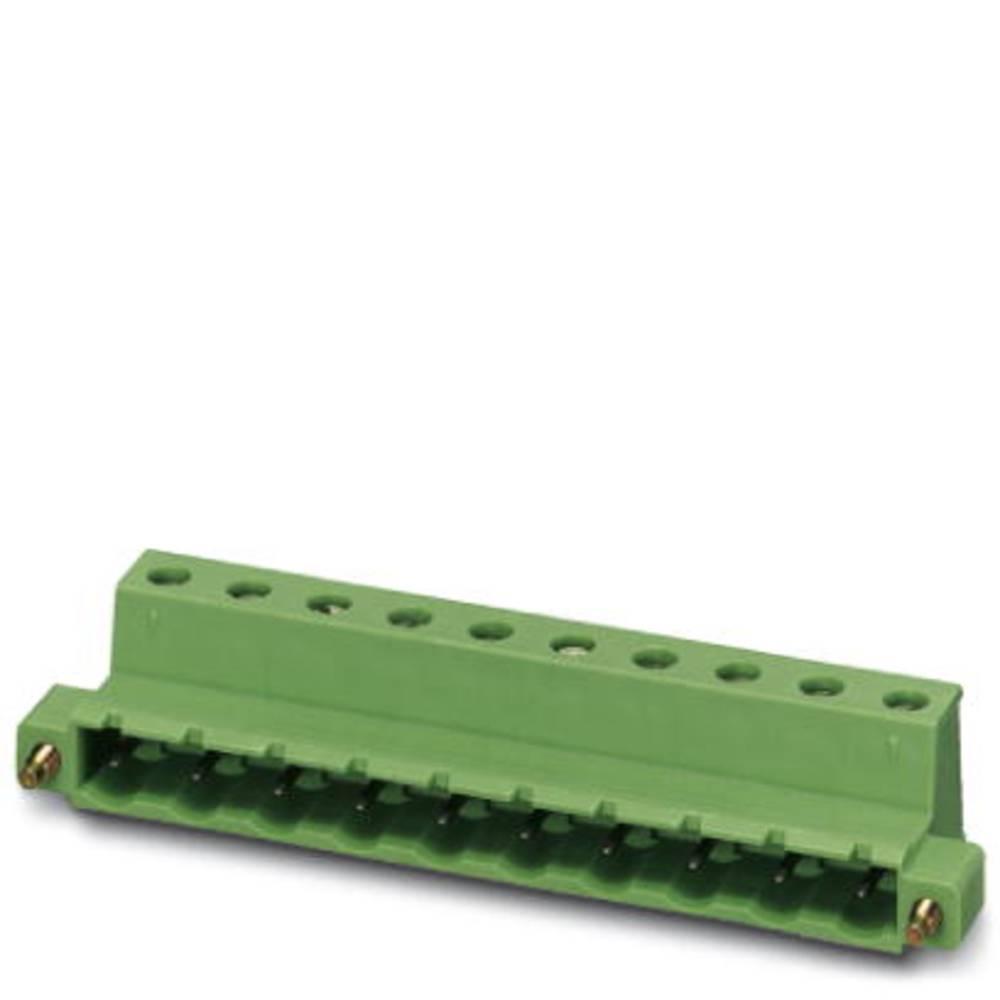 Stiftkabinet-kabel GIC (value.1360820) Samlet antal poler 6 Phoenix Contact 1858918 Rastermål: 7.62 mm 50 stk