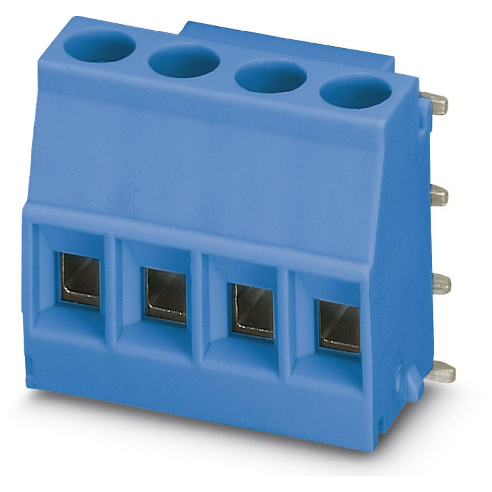 Skrueklemmeblok Phoenix Contact MKDSO 2,5/ 4-R BU 2.50 mm² Poltal 4 Blå 50 stk