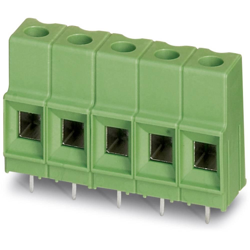 Skrueklemmeblok Phoenix Contact MKDSP 10N/ 4-10,16 16.00 mm² Poltal 4 Grøn 50 stk