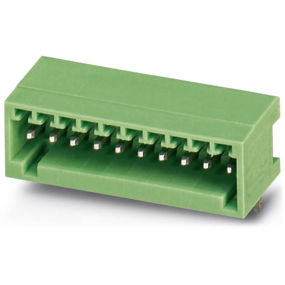 Stiftkabinet-printplade MC (value.1360607) Samlet antal poler 5 Phoenix Contact 1881477 Rastermål: 2.50 mm 50 stk