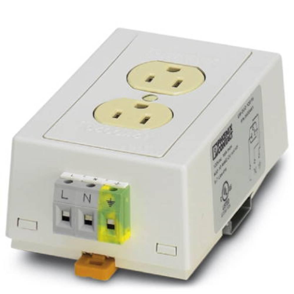 EM DUO120 / 20 / GFI / AUX / NO - udtag EM-DUO120/20/GFI/AUX/NO Phoenix Contact Indhold: 1 stk