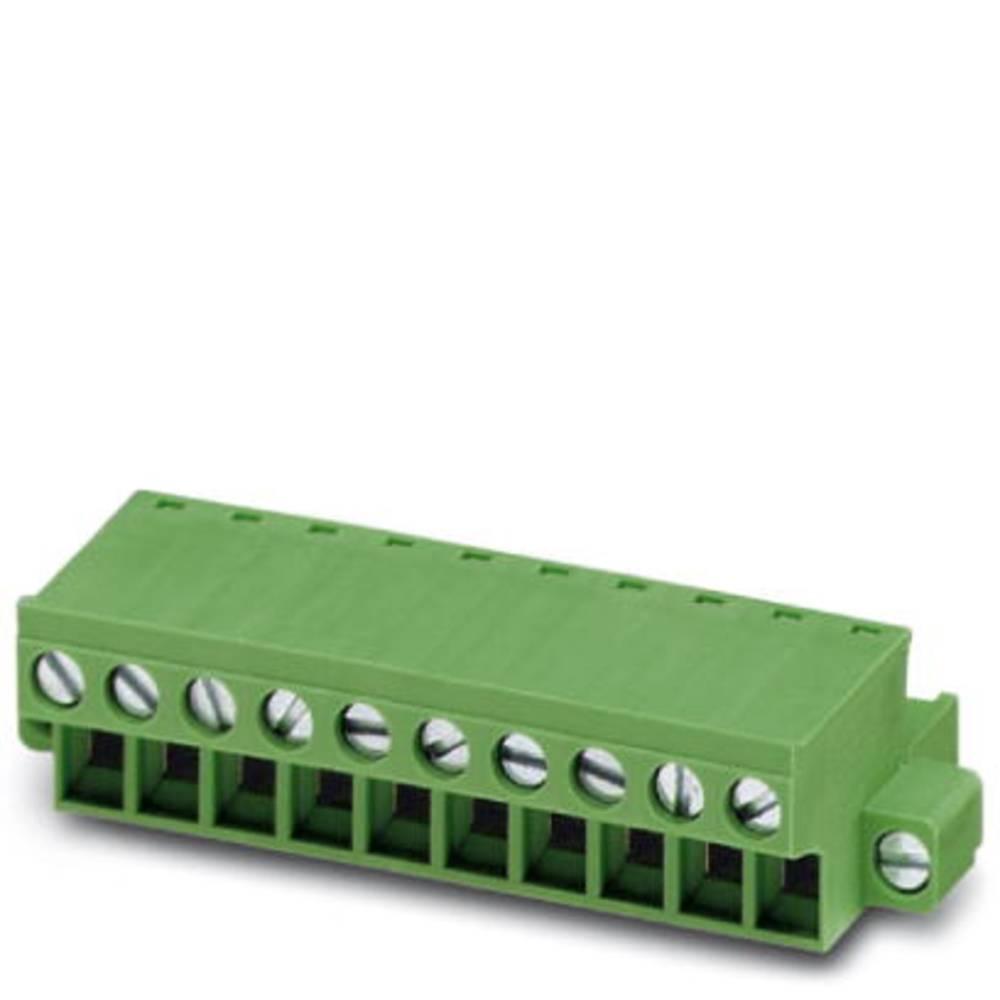 Tilslutningskabinet-kabel FRONT-MSTB (value.1360771) Samlet antal poler 2 Phoenix Contact 1779644 Rastermål: 5 mm 100 stk