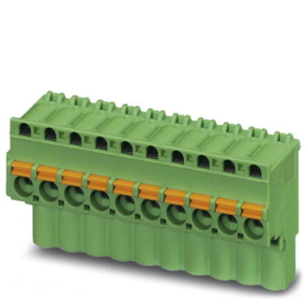Tilslutningskabinet-kabel FKCVW (value.1360850) Samlet antal poler 4 Phoenix Contact 1873676 Rastermål: 5.08 mm 50 stk
