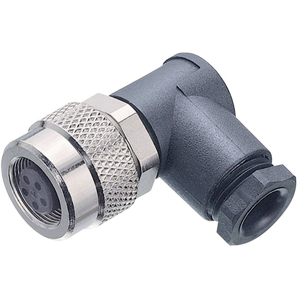 Mini okrogli konektor Binder serije 712, 99-0406-70-03, nazivni tok: 4 A, poli: 3, 1 kos