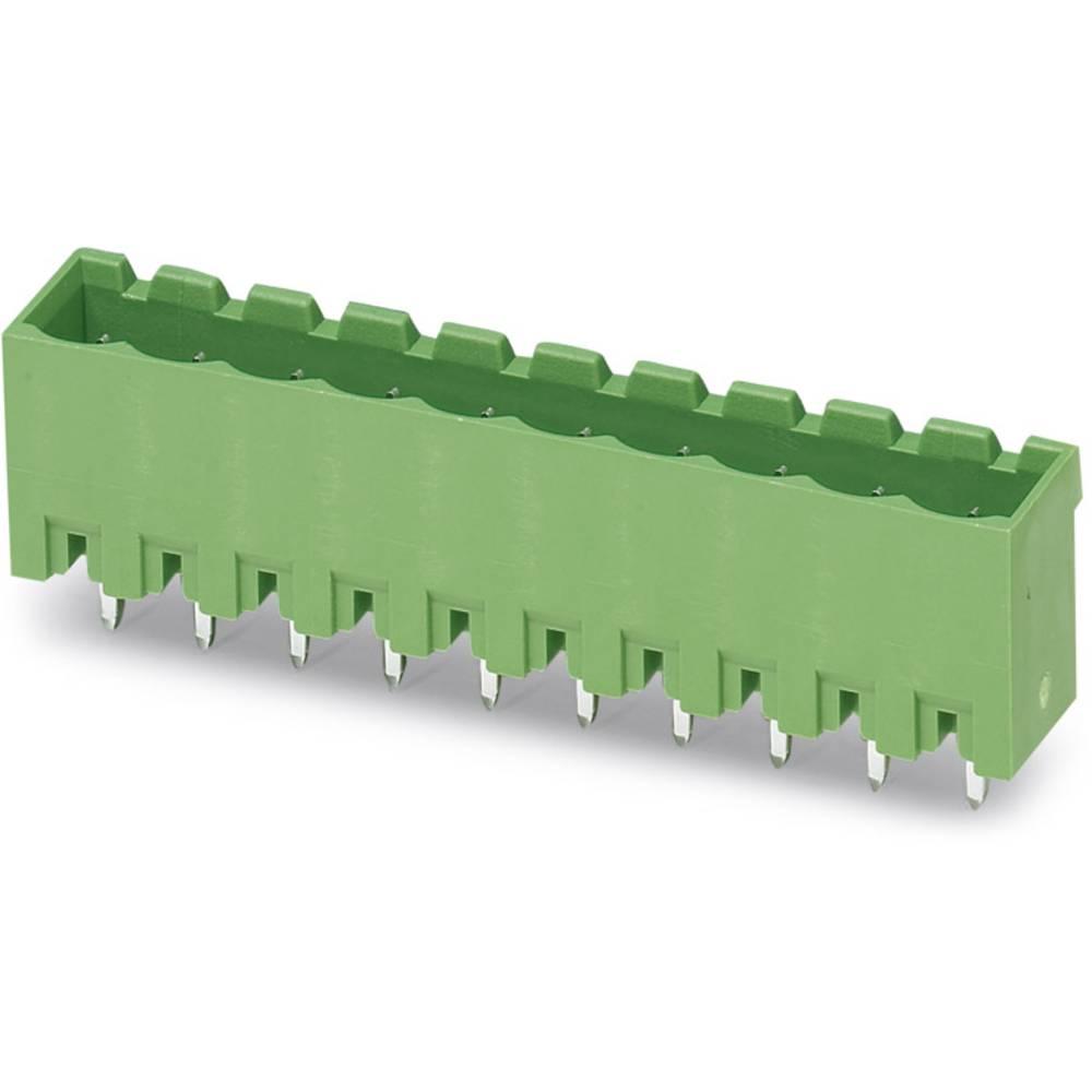 Stiftkabinet-printplade MSTBVA (value.1360821) Samlet antal poler 7 Phoenix Contact 1755781 Rastermål: 5.08 mm 100 stk