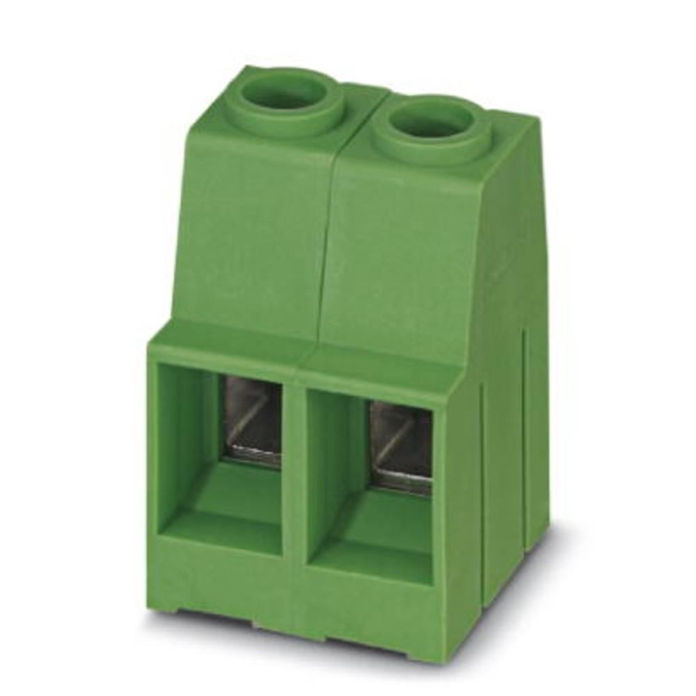 Skrueklemmeblok Phoenix Contact MKDSP 10HV/ 2-10,16 16.00 mm² Poltal 2 Grøn 50 stk