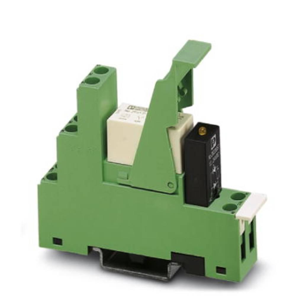 Relækomponent 5 stk Phoenix Contact PR1-RSC3-LV-120AC/21 Nominel spænding: 120 V/AC Brydestrøm (max.): 12 A 1 x skiftekontakt