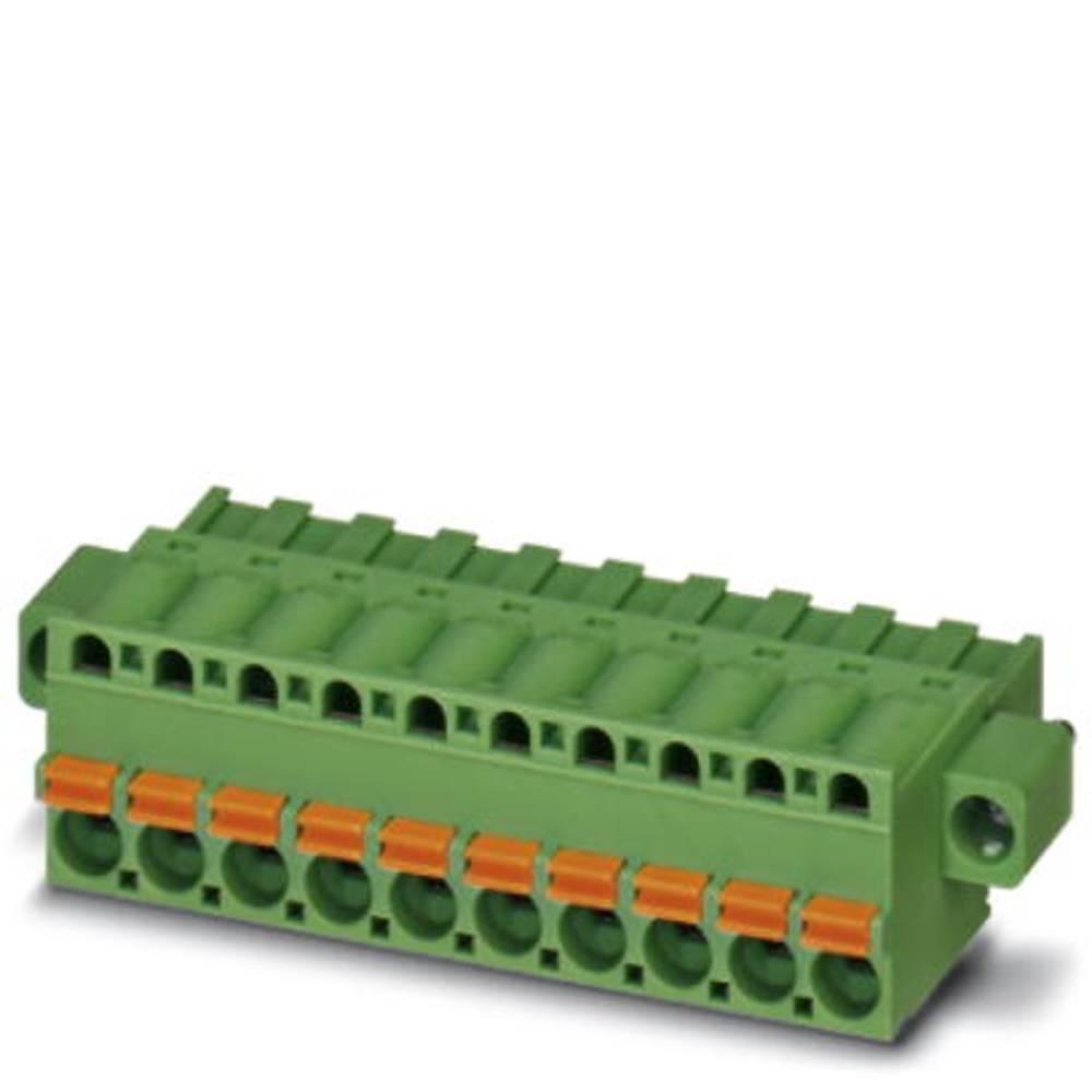 Tilslutningskabinet-kabel FKCT (value.1360973) Samlet antal poler 3 Phoenix Contact 1909414 Rastermål: 5 mm 50 stk