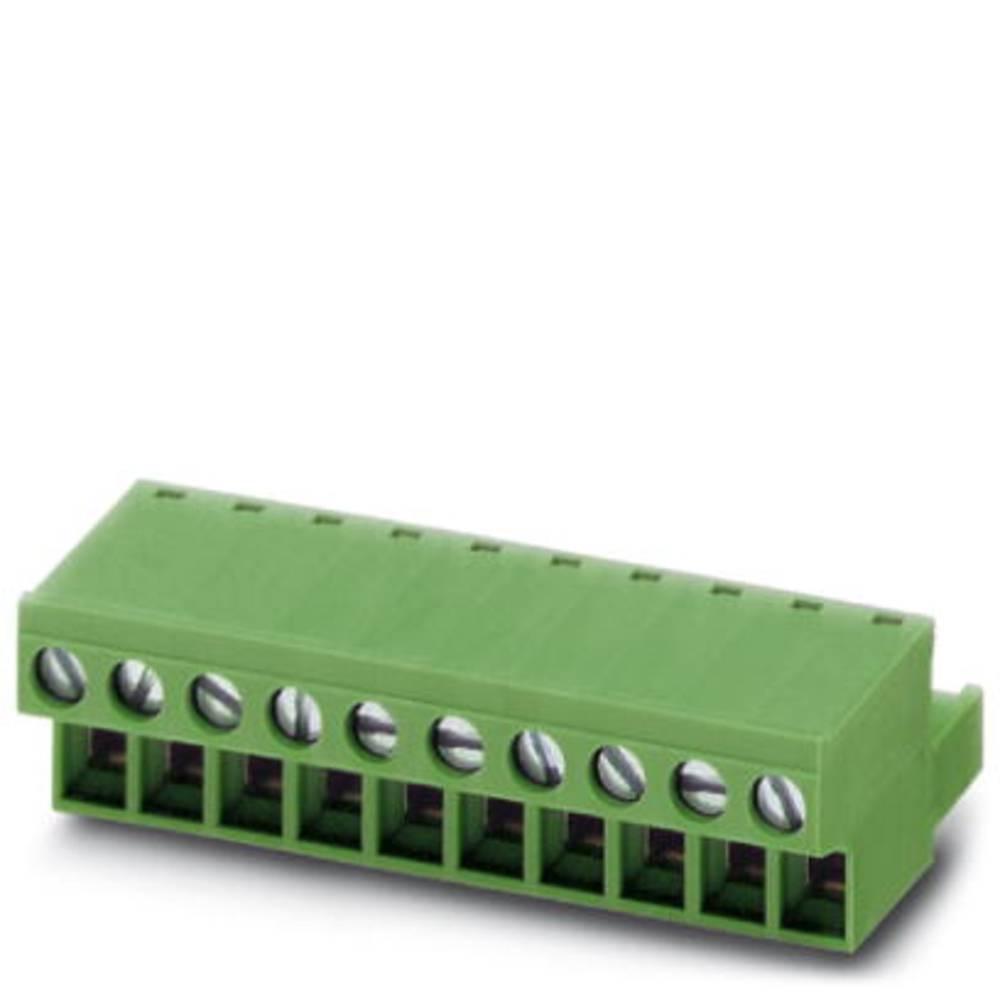 Tilslutningskabinet-kabel FRONT-MSTB Samlet antal poler 6 Phoenix Contact 1777329 Rastermål: 5.08 mm 50 stk