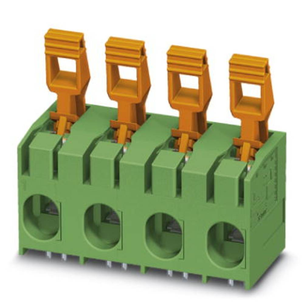 Fjederkraftsklemmeblok Phoenix Contact PLH 16/ 5-15 25.00 mm² Poltal 5 Grøn 25 stk