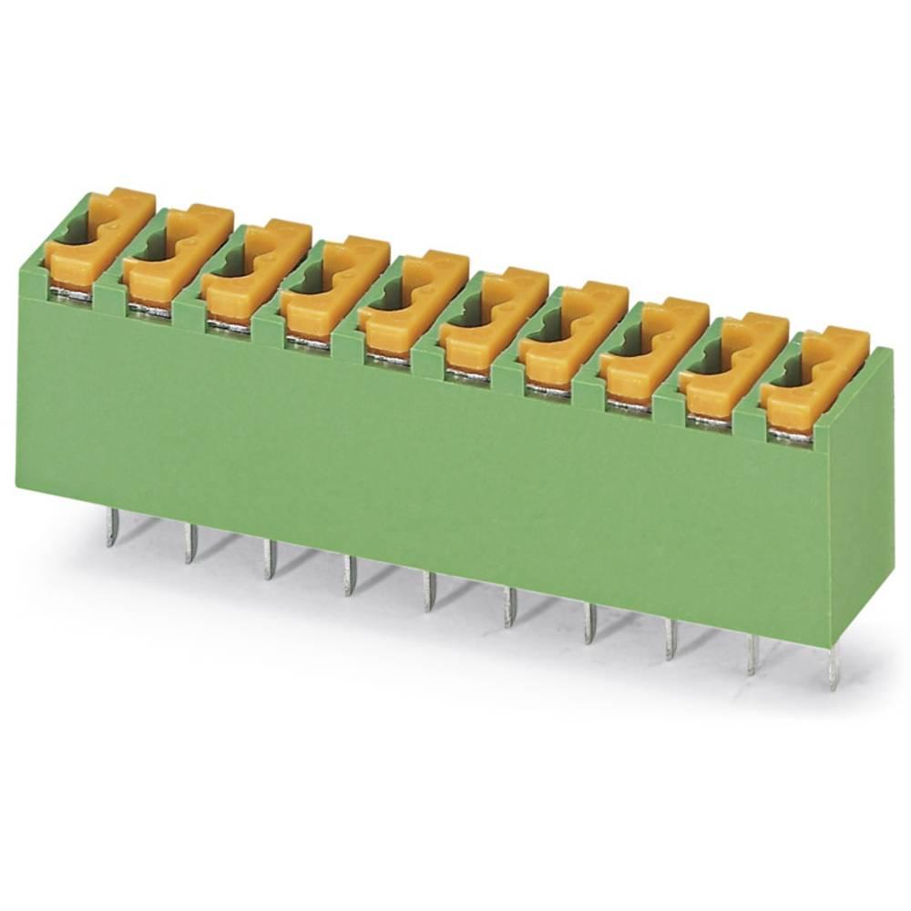 Fjederkraftsklemmeblok Phoenix Contact FK-MPT 0,5/ 4-3,5 NZ:88975 D3 0.50 mm² Poltal 4 Grøn 50 stk