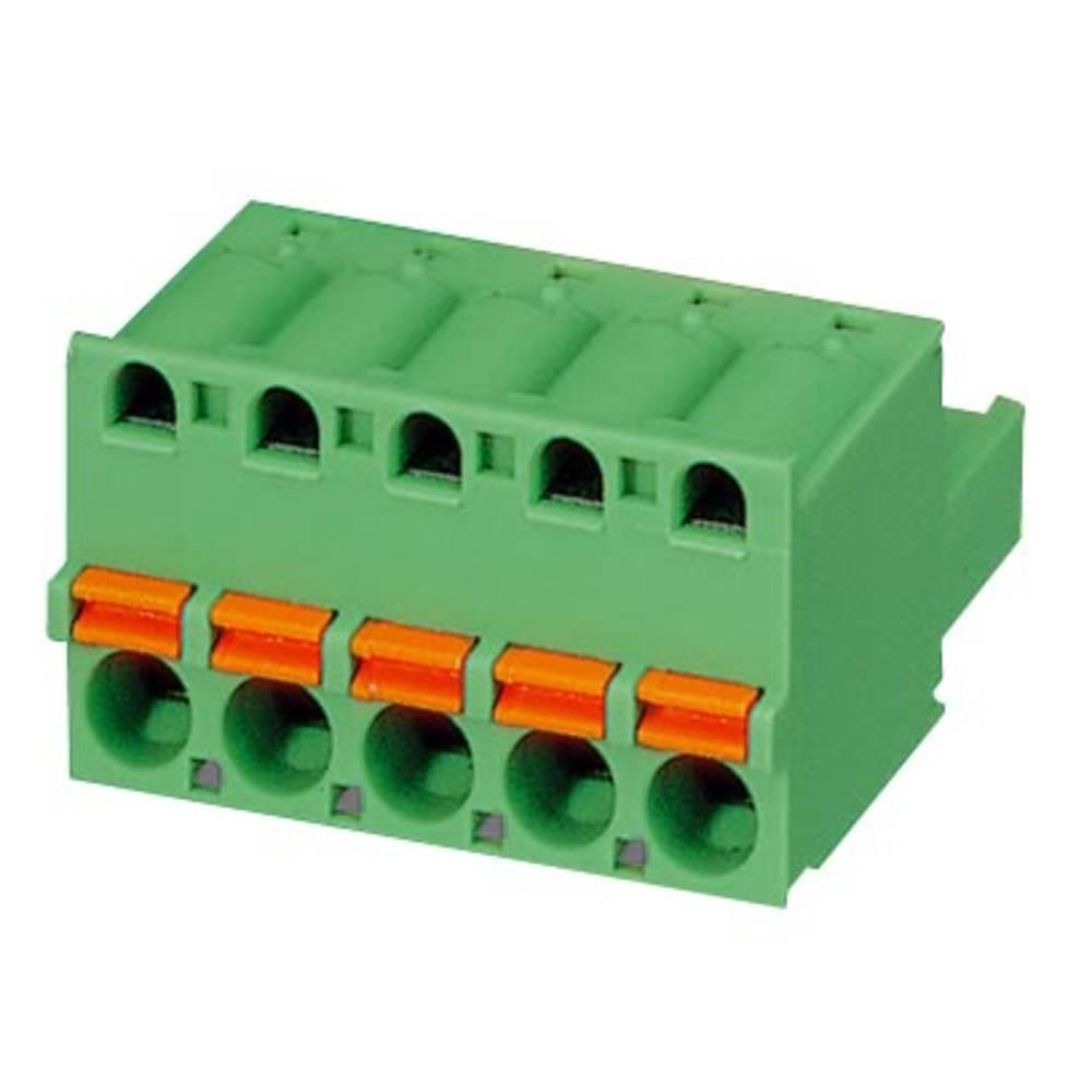Tilslutningskabinet-kabel FKC (value.1361088) Samlet antal poler 5 Phoenix Contact 1936306 Rastermål: 5.08 mm 100 stk