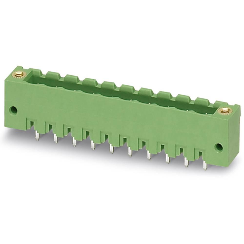 Stiftkabinet-printplade MSTBV (value.1360960) Samlet antal poler 5 Phoenix Contact 1777109 Rastermål: 5.08 mm 250 stk