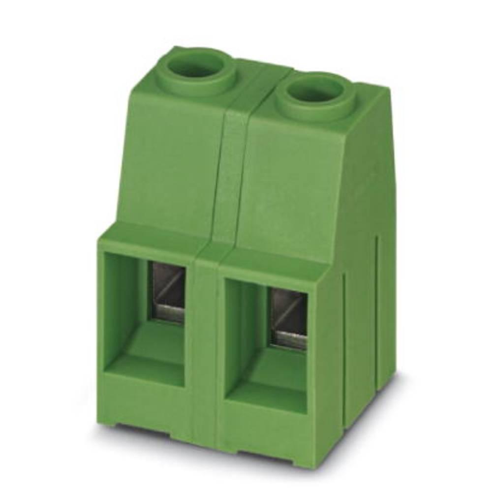 Skrueklemmeblok Phoenix Contact MKDSP 10HV/ 2-12,7 16.00 mm² Poltal 2 Grøn 50 stk