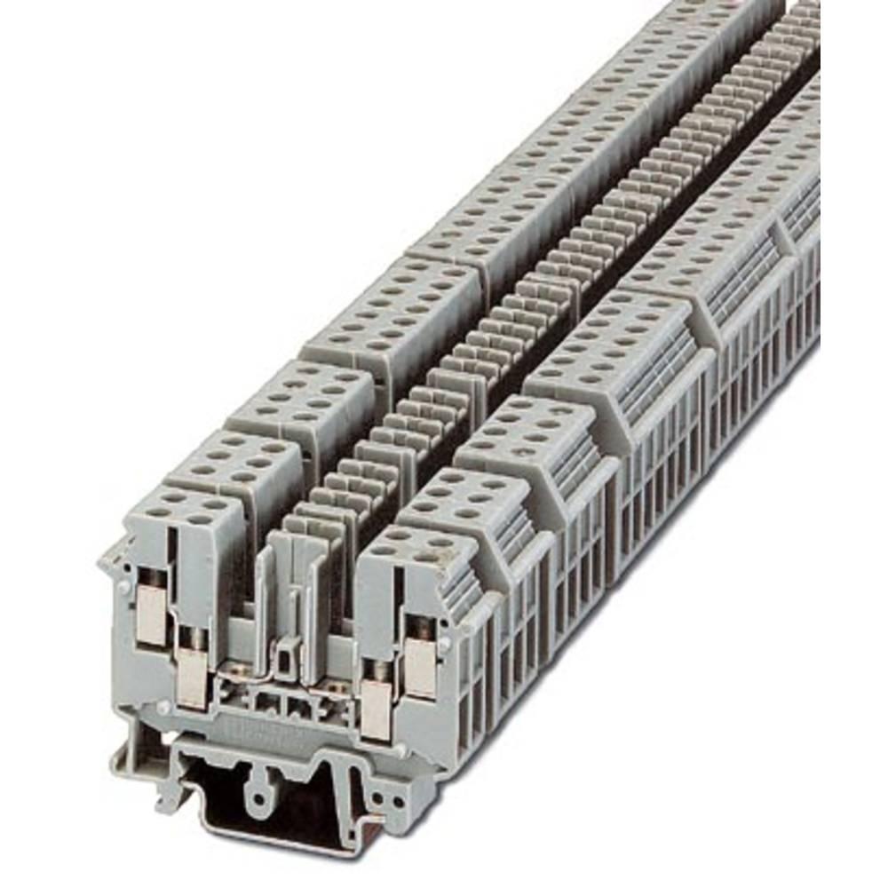 Basic terminal block UDK-RELG 2 Phoenix Contact UDK-RELG 2 Grå 50 stk