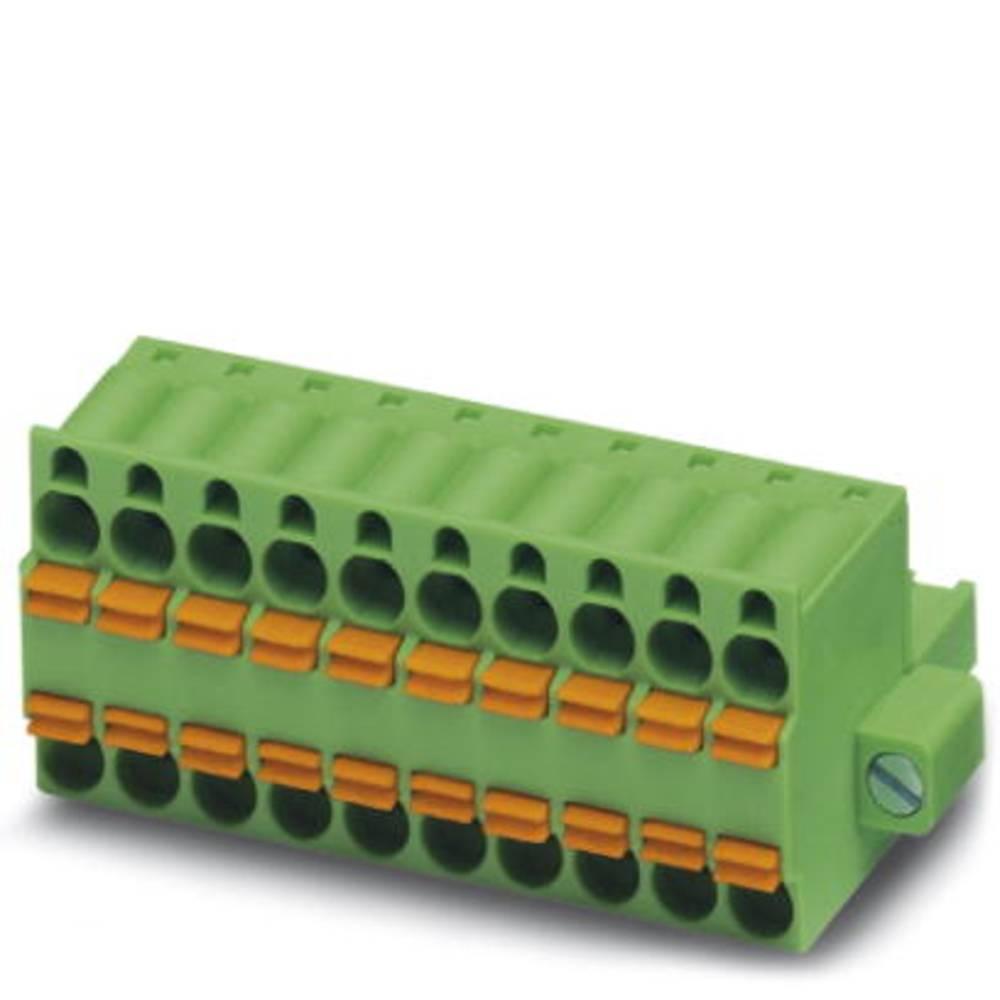 Tilslutningskabinet-kabel TFKC (value.1360814) Samlet antal poler 1 Phoenix Contact 1962723 Rastermål: 5.08 mm 50 stk