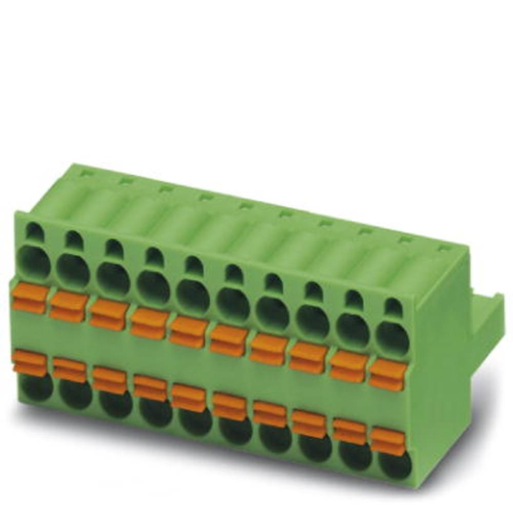 Tilslutningskabinet-kabel TFKC (value.1360814) Samlet antal poler 1 Phoenix Contact 1962668 Rastermål: 5.08 mm 50 stk
