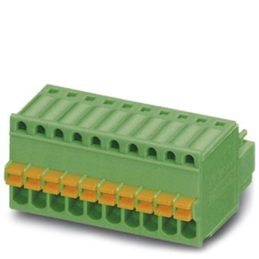 Tilslutningskabinet-kabel FK-MC (value.1360634) Samlet antal poler 5 Phoenix Contact 1881354 Rastermål: 2.50 mm 50 stk