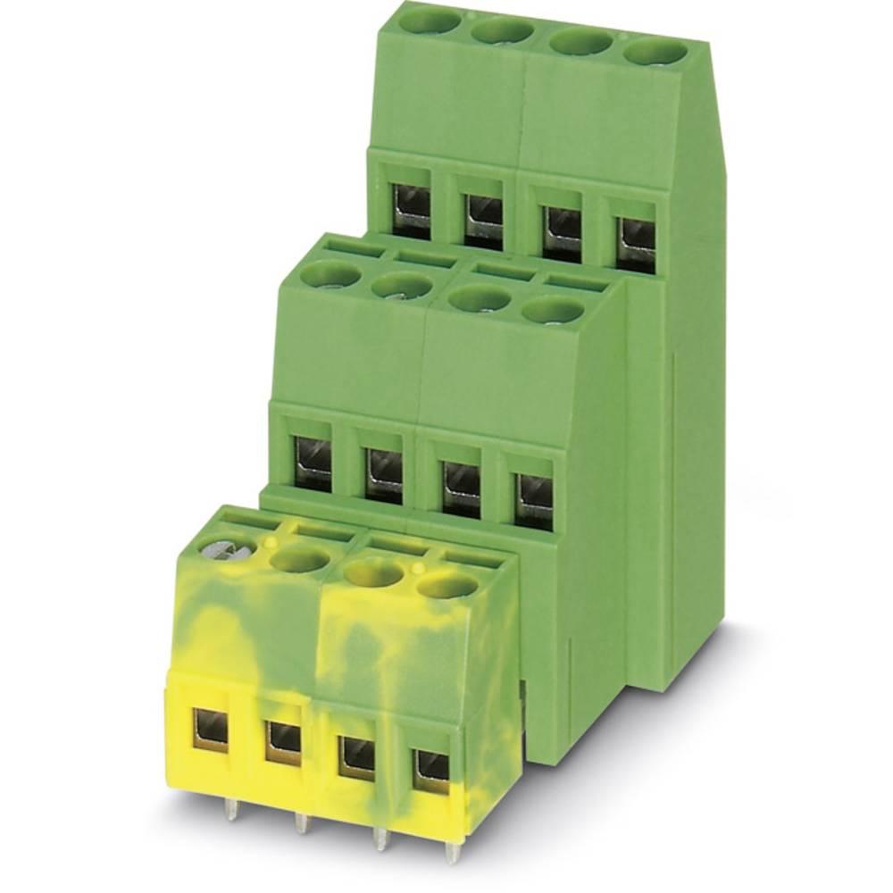 Tre-etagesklemme Phoenix Contact MK3DS 1,5/ 3-5,08 1.50 mm² Poltal 9 Grøn 100 stk