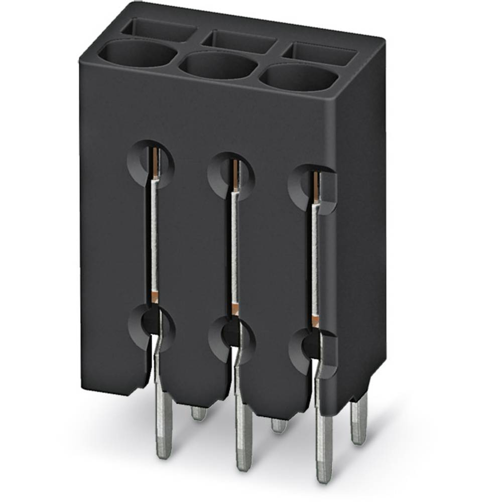 Fjederkraftsklemmeblok Phoenix Contact PTSM 0,5/ 2-2,5-V THR R44 0.50 mm² Poltal 2 Sort 310 stk