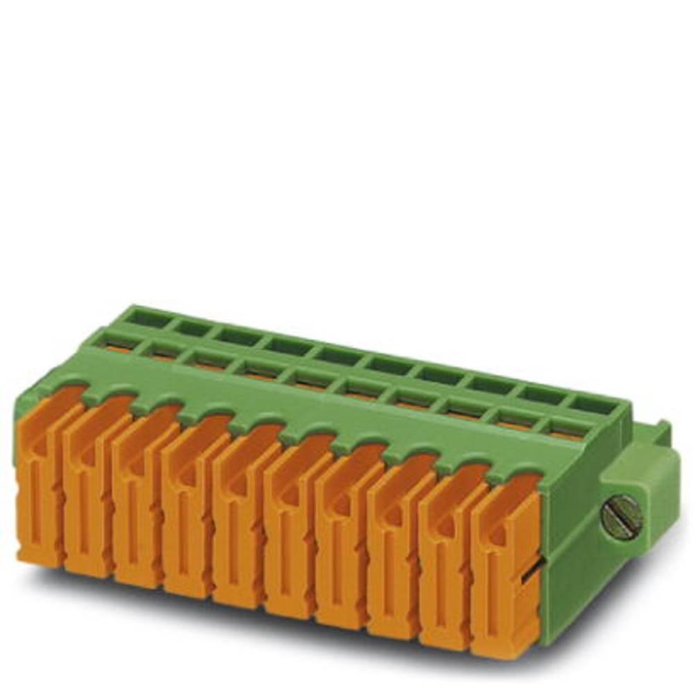 Tilslutningskabinet-kabel QC (value.1360941) Samlet antal poler 2 Phoenix Contact 1883352 Rastermål: 5.08 mm 50 stk