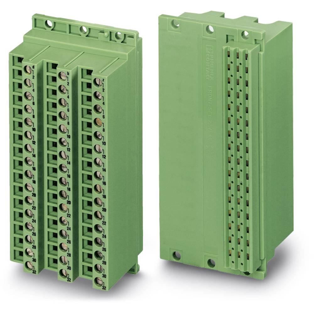 Multistikfatning FRONT-SFL 2,5 / F48 Samlet poltal 48 Antal rækker 3 Phoenix Contact 10 stk