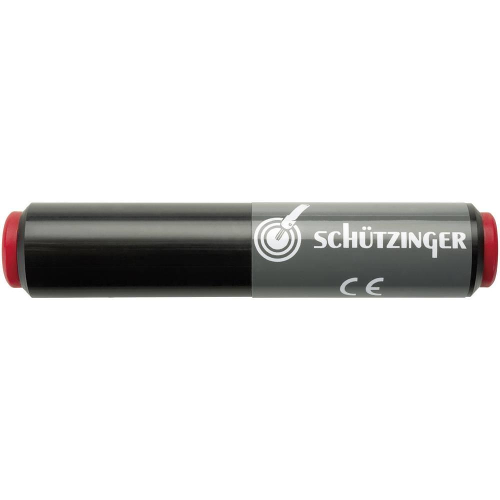 Forbindelseskobling Schützinger SKU 7035/NI/RT Tilslutning 4 mm Tilslutning 4 mm Rød 1 stk