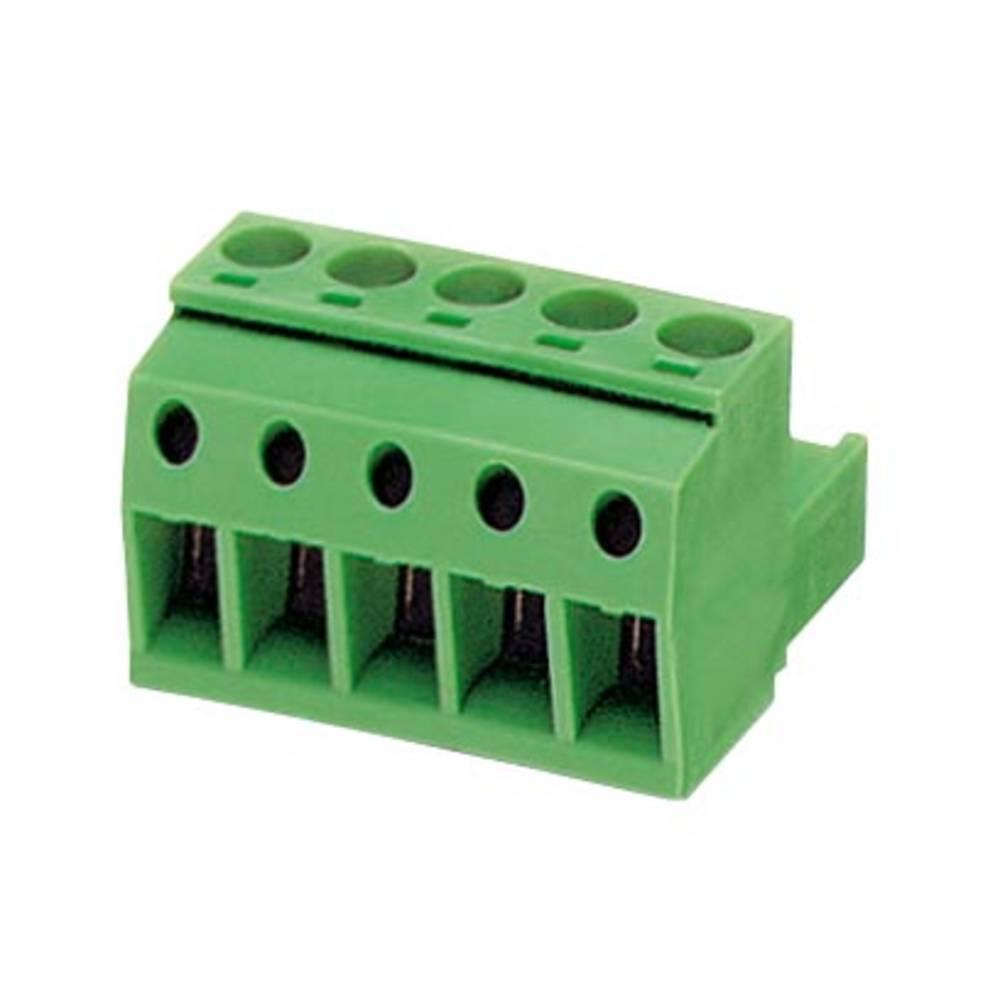 Tilslutningskabinet-kabel MSTBP (value.1360639) Samlet antal poler 5 Phoenix Contact 1769049 Rastermål: 5.08 mm 50 stk