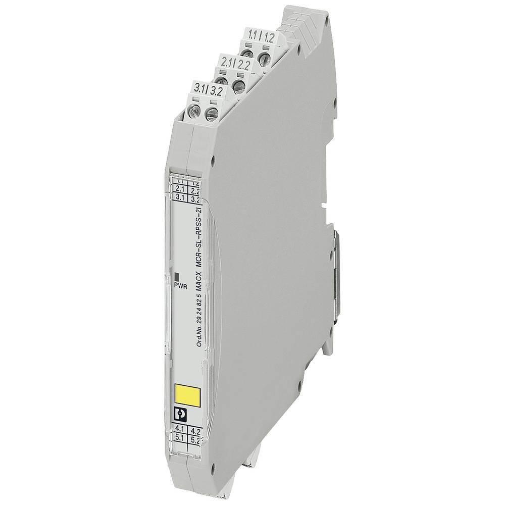 MACX MCR-SL-RPSSI-2I-SP - napajalni razdelilnik Phoenix Contact MACX MCR-SL-RPSSI-2I-SP kataloška številka 2924838 1 kos