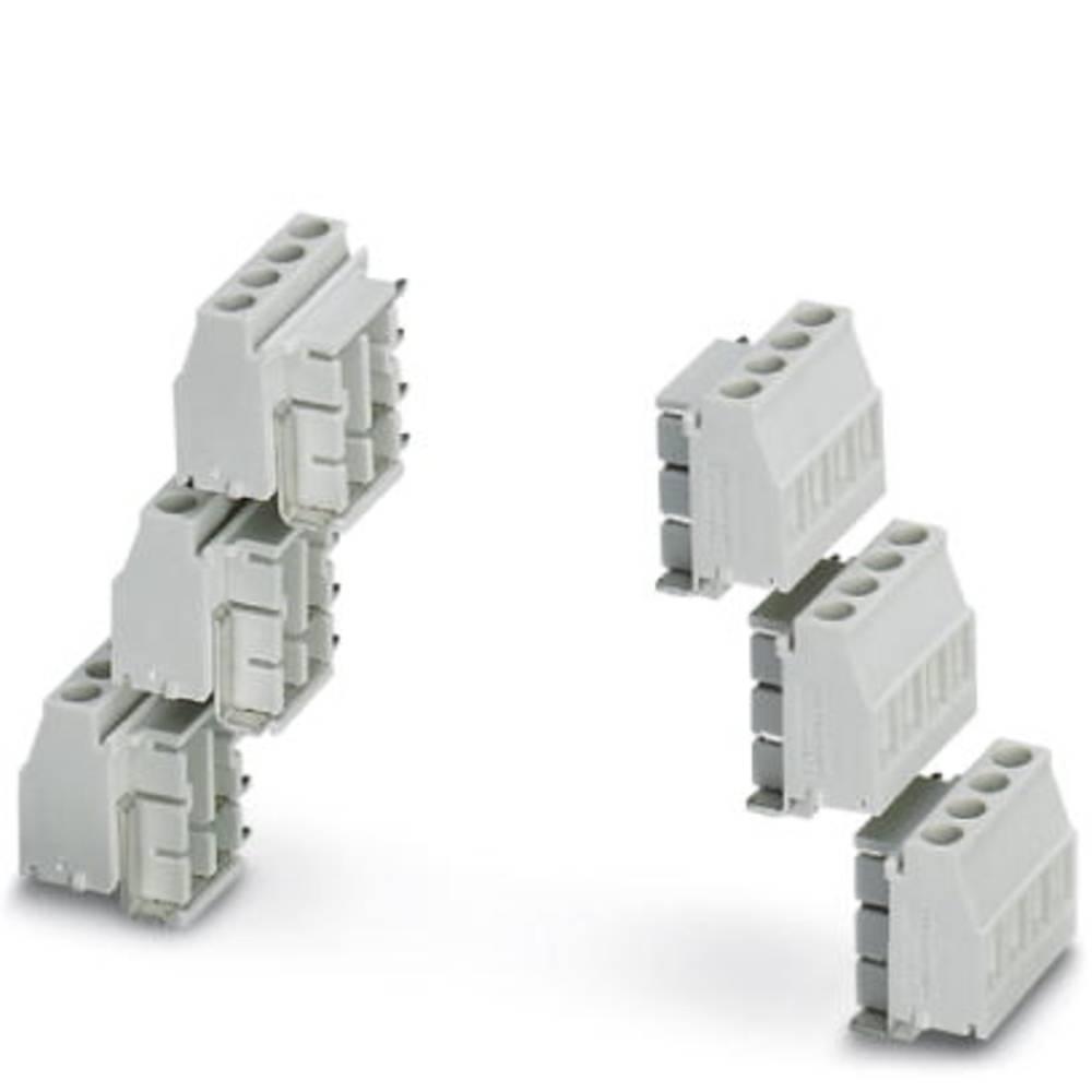 Skrueklemmeblok Phoenix Contact MKDSO 2,5/4-6 SET KMGY 2.50 mm² Poltal 4 Grå 1 stk