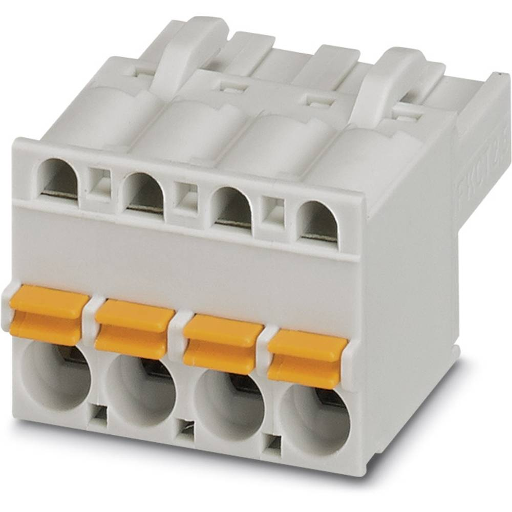 Tilslutningskabinet-kabel FKCT (value.1360973) Samlet antal poler 2 Phoenix Contact 1751642 Rastermål: 5 mm 100 stk