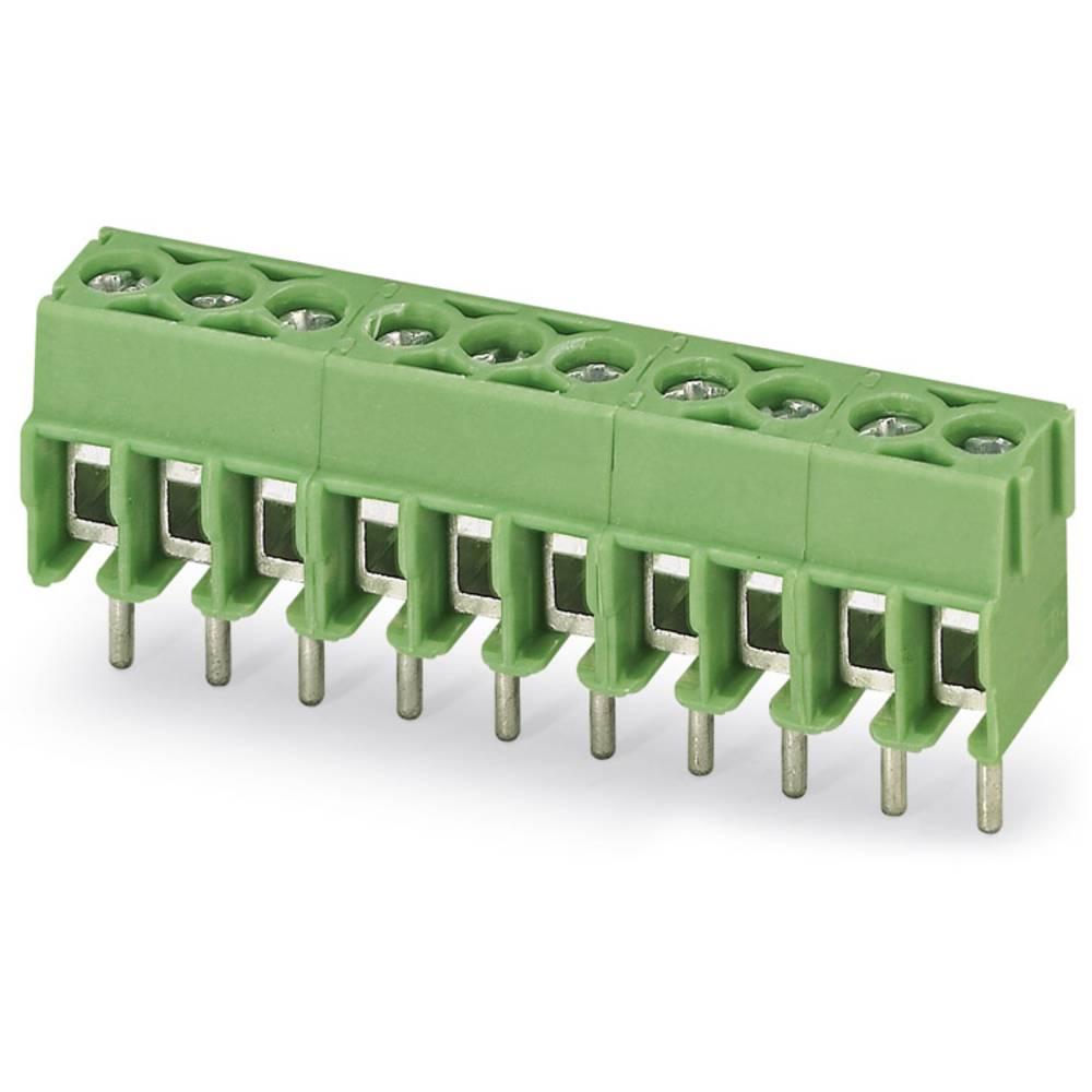 Skrueklemmeblok Phoenix Contact PT 1,5/ 6-3,5-H 1.50 mm² Poltal 6 Grøn 100 stk