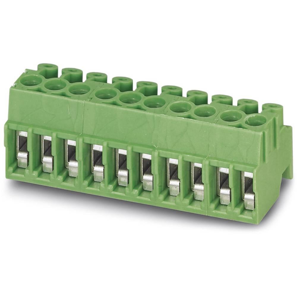 Tilslutningskabinet-kabel PT (value.1360828) Samlet antal poler 6 Phoenix Contact 1984358 Rastermål: 3.50 mm 100 stk